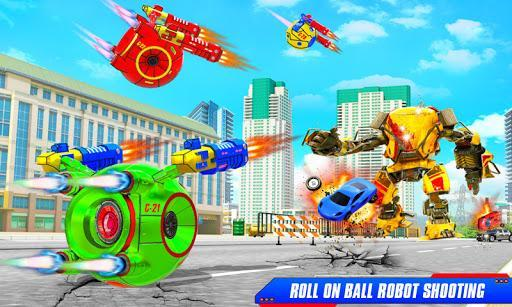 Flying Helicopter Car Ball Transform Robot Games - عکس برنامه موبایلی اندروید