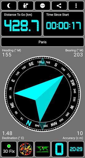 GPS Test - عکس برنامه موبایلی اندروید