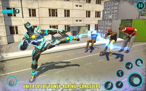 Flying Panther Robot Hero Game:City Rescue Mission - عکس برنامه موبایلی اندروید