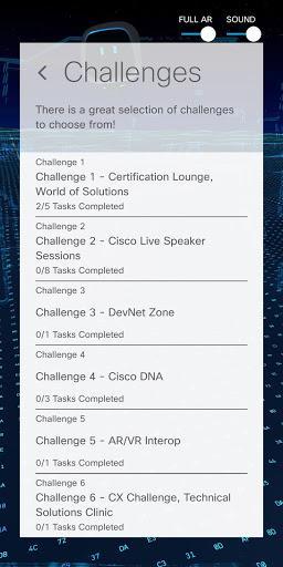 Cisco AR Challenge - عکس برنامه موبایلی اندروید