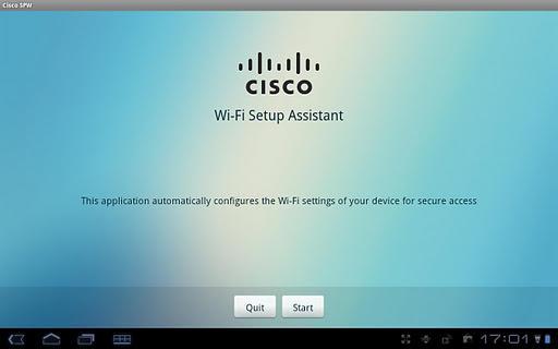 Cisco Network Setup Assistant - عکس برنامه موبایلی اندروید
