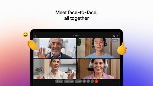 Cisco Webex Meetings - عکس برنامه موبایلی اندروید