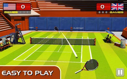 Play Tennis - Gameplay image of android game