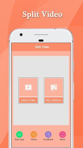 Split Video - عکس برنامه موبایلی اندروید