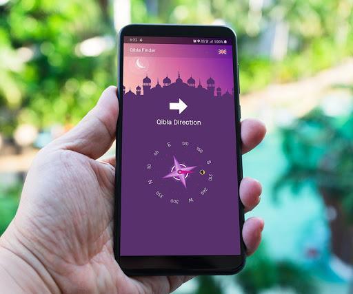Qibla Finder - Find Qibla Direction - عکس برنامه موبایلی اندروید