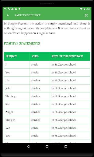 English Grammar Book - عکس برنامه موبایلی اندروید
