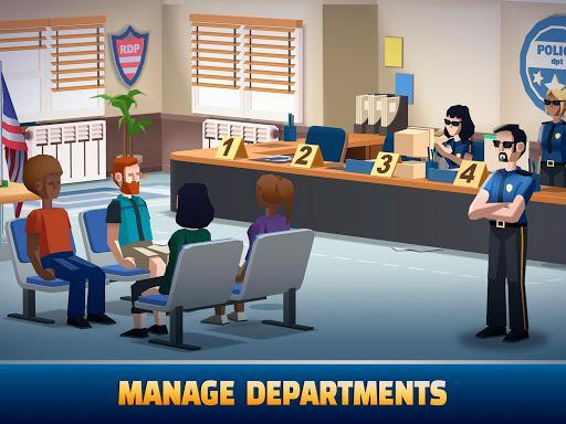 Idle Police Tycoon - Cops Game - عکس بازی موبایلی اندروید