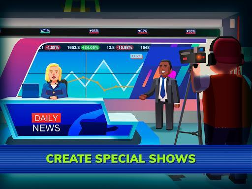 TV Empire Tycoon - Idle Management Game - عکس بازی موبایلی اندروید