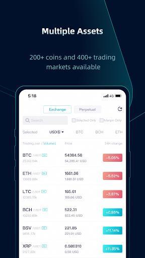 CoinEx - A Trustworthy Cryptocurrency Exchange - عکس برنامه موبایلی اندروید