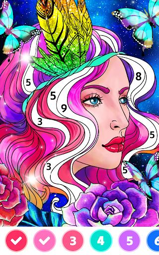 Color123 - paint by number, color by number - عکس برنامه موبایلی اندروید