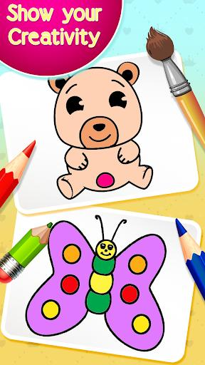 Drawing and Coloring Book Game - عکس برنامه موبایلی اندروید