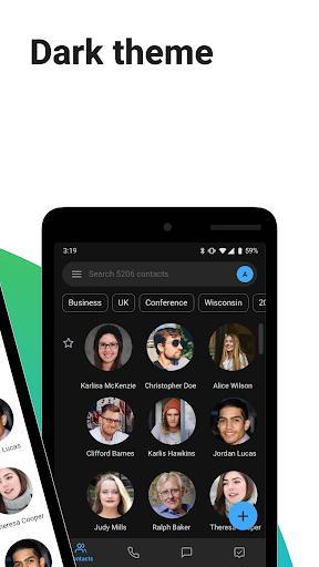 Contacts+ - عکس برنامه موبایلی اندروید