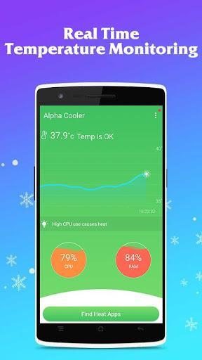 Phone Cooler CPU Cooler Master (Speed Booster) - عکس برنامه موبایلی اندروید