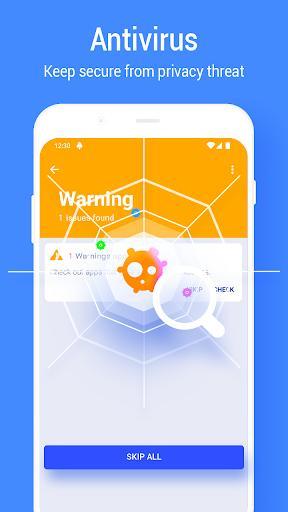 Phone Booster - Virus Cleaner & App Lock - عکس برنامه موبایلی اندروید