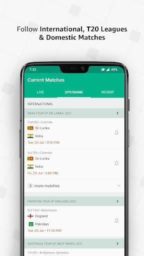 Cricbuzz - Live Cricket Scores & News - عکس برنامه موبایلی اندروید