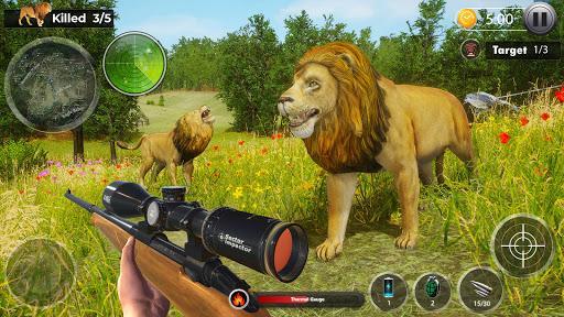 Wild Dinosaur Hunting 3D- Dino Hunter Game Offline - عکس برنامه موبایلی اندروید