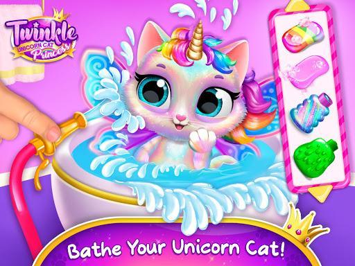 Twinkle - Unicorn Cat Princess - عکس بازی موبایلی اندروید