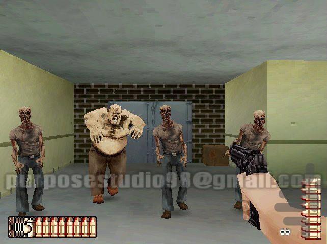 زامبی ها در تیررس - عکس بازی موبایلی اندروید
