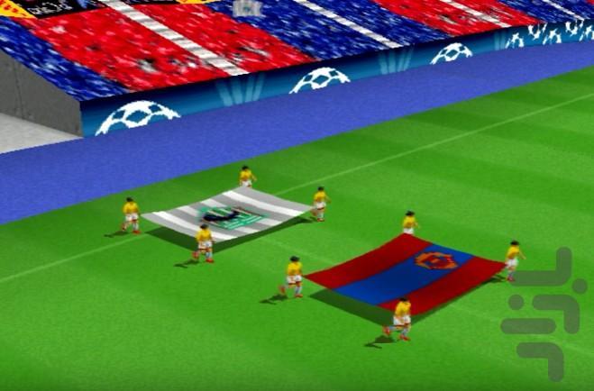 فوتبال اروپا 2015 - عکس بازی موبایلی اندروید