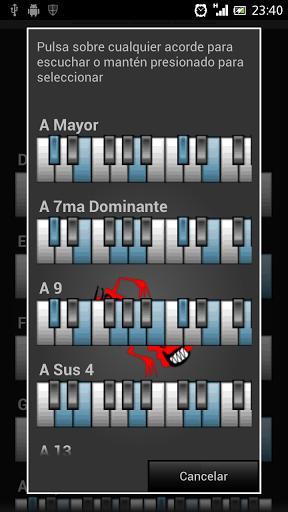 Circle of Chords - عکس برنامه موبایلی اندروید