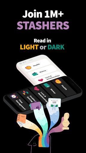 Deepstash کتابخانهي شخصی ایده و دانش - عکس برنامه موبایلی اندروید