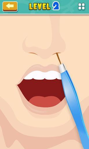 Nose Hair pulling - عکس بازی موبایلی اندروید