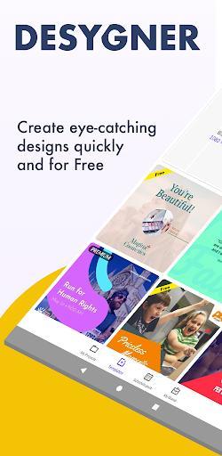 Desygner: Free Graphic Design Maker & Editor - عکس برنامه موبایلی اندروید