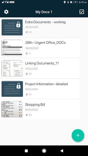 Camera Scanner - PDF Scanner App - عکس برنامه موبایلی اندروید