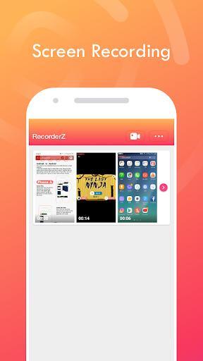 RecorderZ - Screen Recorder by Zapya - عکس برنامه موبایلی اندروید