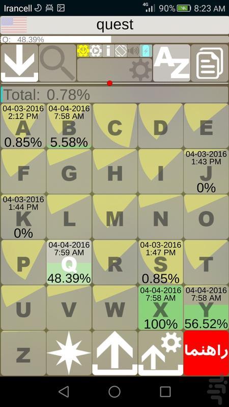 9000 لغت زبان انگلیسی (آمریکایی) - عکس برنامه موبایلی اندروید