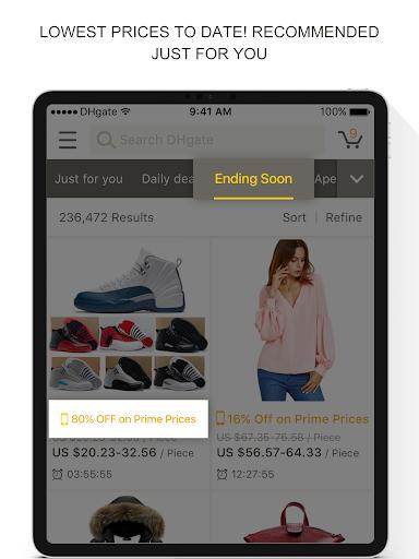 DHgate-online wholesale stores - عکس برنامه موبایلی اندروید