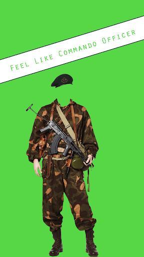 Commando Photo Suit - عکس برنامه موبایلی اندروید