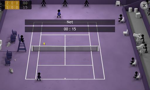 Stickman Tennis - عکس بازی موبایلی اندروید