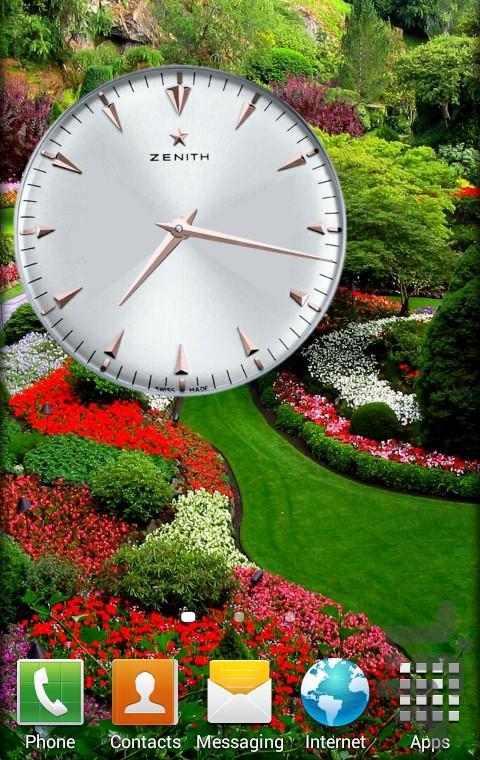 ساعت معروف +6 ساعت - عکس برنامه موبایلی اندروید