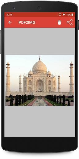 PDF to Image Converter | Free | Offline - عکس برنامه موبایلی اندروید