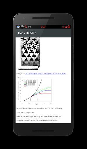 Docx Reader - عکس برنامه موبایلی اندروید