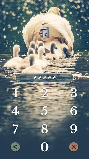 AppLock Theme Swan - عکس برنامه موبایلی اندروید