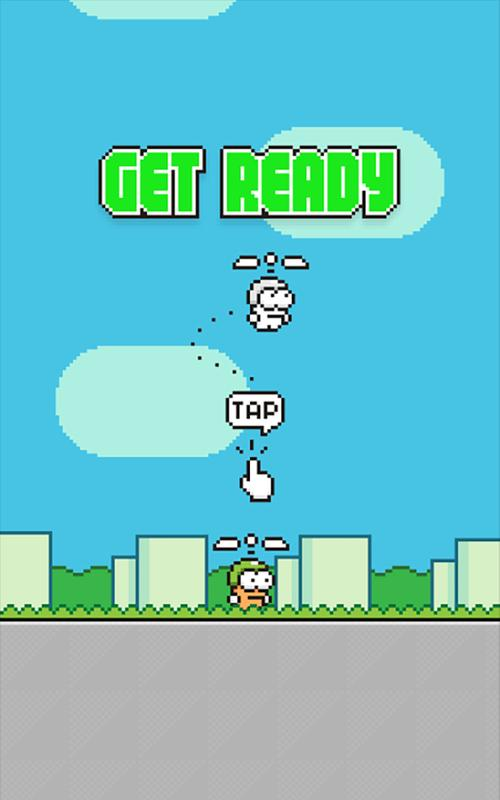 Swing Copters - عکس بازی موبایلی اندروید