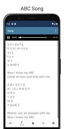 English Alphabet with Sound, Test, Quiz, abc. - عکس برنامه موبایلی اندروید