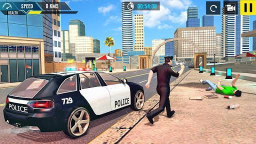 Police Crime City Driving Games 2020 - عکس بازی موبایلی اندروید
