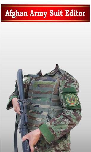 Afghan army dress editor: commandos suit changer - عکس برنامه موبایلی اندروید