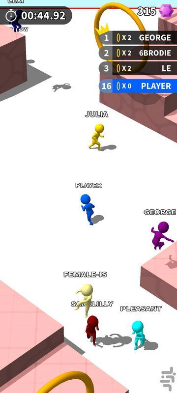Hoops.io - عکس بازی موبایلی اندروید