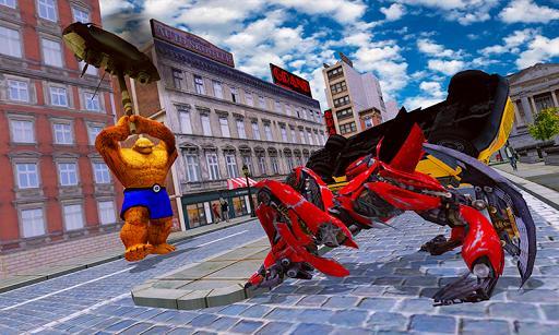 Incredible Grand Hero Monster: City Robot War - عکس بازی موبایلی اندروید