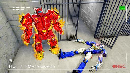 Grand Robot Prison Escape Jail Break Robot Games - عکس برنامه موبایلی اندروید