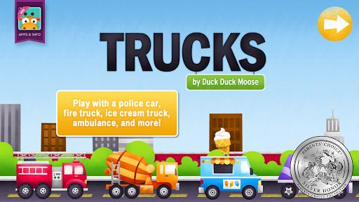Trucks by Duck Duck Moose - عکس بازی موبایلی اندروید