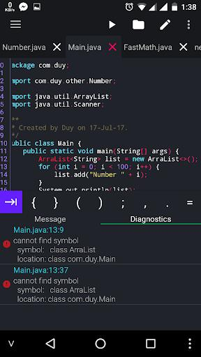 Java N-IDE - Android Builder - Java SE Compiler - عکس برنامه موبایلی اندروید