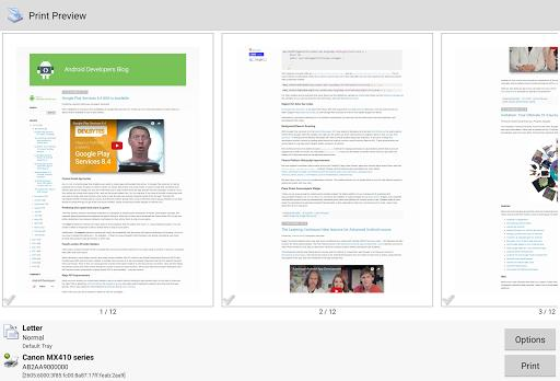 PrinterShare Mobile Print - عکس برنامه موبایلی اندروید