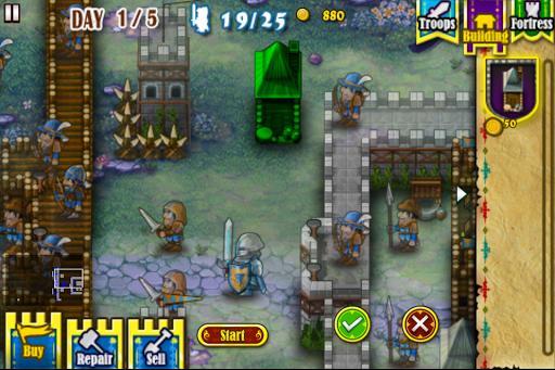 Fortress Under Siege HD - عکس بازی موبایلی اندروید