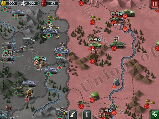 World Conqueror 3  - WW2  Strategy game - عکس بازی موبایلی اندروید