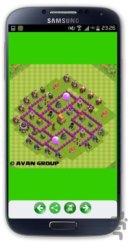 برترین نقشه های کلش (VIP) - عکس برنامه موبایلی اندروید